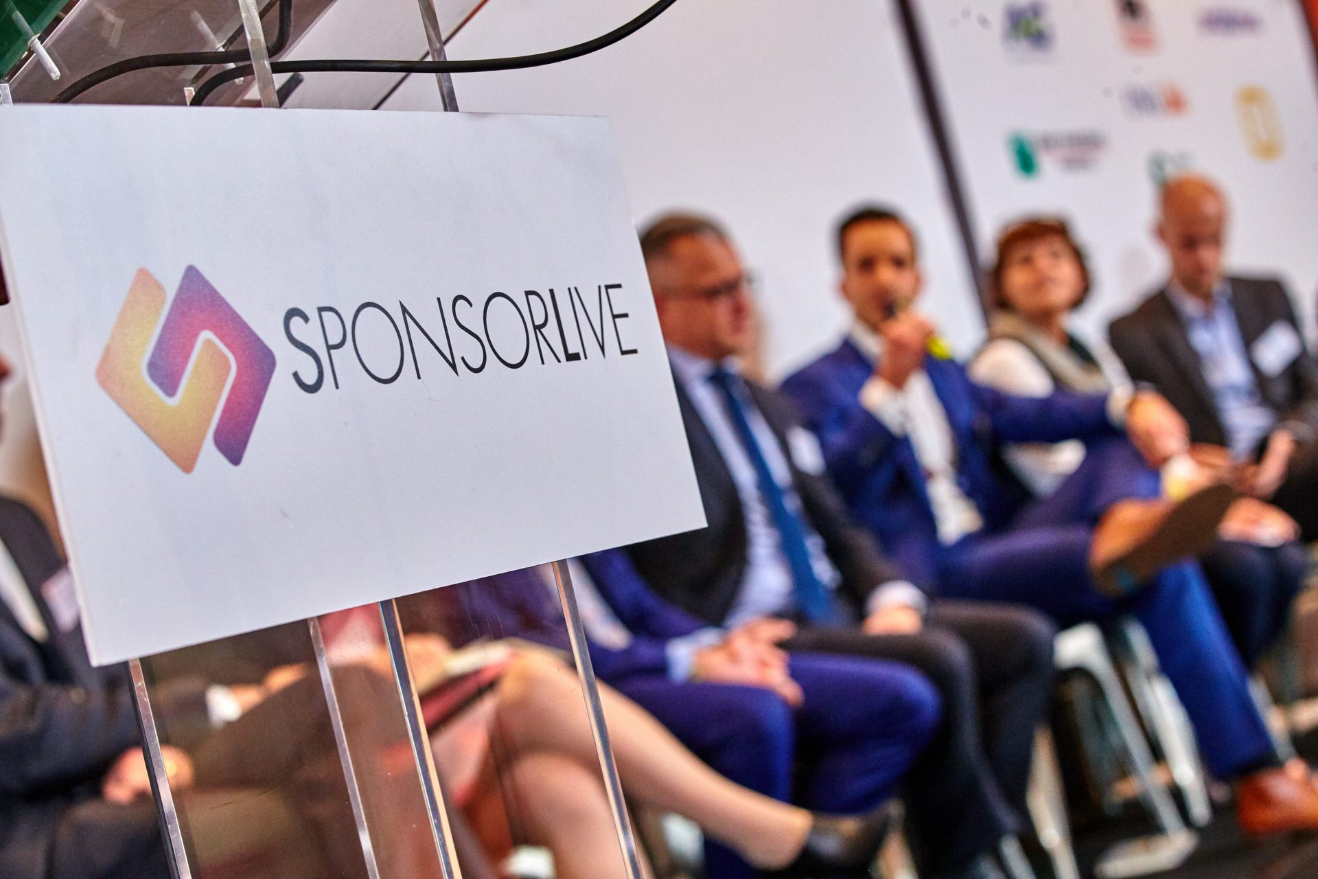 Panel discussion during SponsorLive